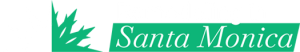 Santa Monica White Logo